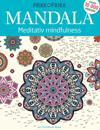 Prikk til prikk Mandala. Meditativ mindfulness