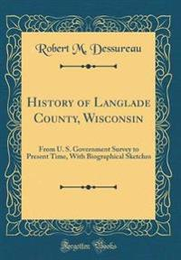 History of Langlade County, Wisconsin