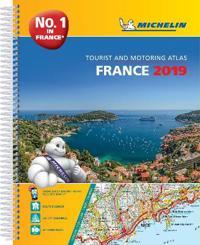Frankrike Atlas 2019 Michelin