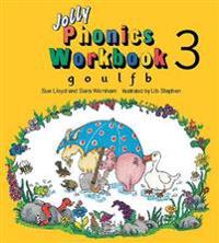 Jolly phonics workbook 3 - in precursive letters (be)