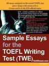 Sample Essays for the Toefl Writing Test Twe