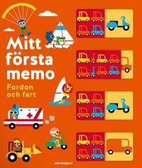 Mitt första memo   fordon och fart -  - böcker (9789129715842)     Bokhandel