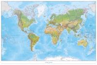 Världen väggkarta Norstedts 1:40 milj i tub : Skala 1:40 milj