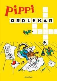 Pippi ordlekar : Korsord, rebusar och ordflätor