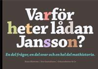 Varför heter lådan Jansson? : 100 kända namn på mat och dryck.