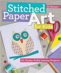 Stitched Paper Art for Kids