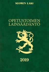 Opetustoimen lainsäädäntö 2019