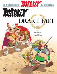 Asterix drar i fält - René Goscinny pdf epub