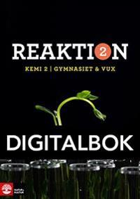 Reaktion Kemi 2 Lärobok Digital