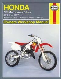 Haynes Honda CR Motocross Bikes 1986 thru 2007