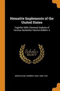 Hematite Implements of the United States