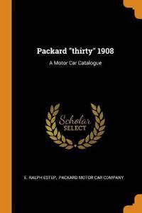 "Packard ""thirty"" 1908"