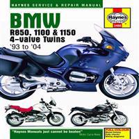 Haynes BMW R850, 1100 & 1150 4-valve Twins '93 to '06