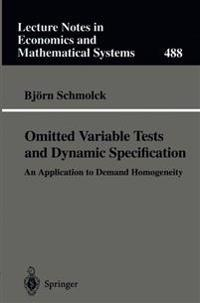Omitted Variable Tests and Dynamic Specification