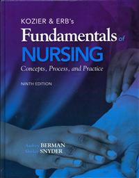 Kozier & Erb's Fundamentals of Nursing: Concepts, Process, and Practice [With Access Code]