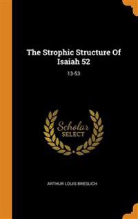 Strophic Structure Of Isaiah 52