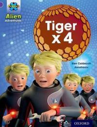Project x: alien adventures: purple: tiger x 4