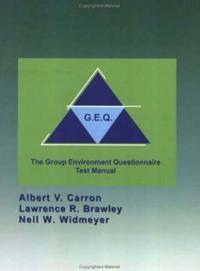 Group Environment Questionnaire