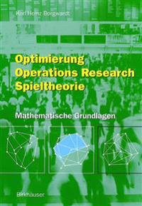 Optimierung, Operations Research, Spieltheorie