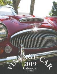 Vintage Car 2019 Calendar (UK Edition)