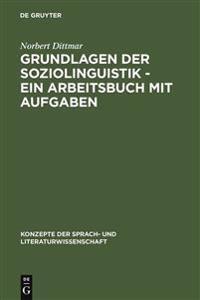 Grundlagen Der Soziolinguistik