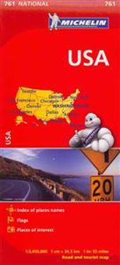 Michelin USA Road Map