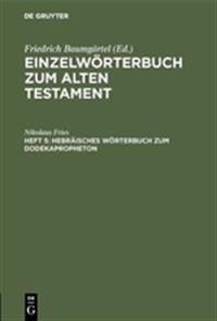 Hebr isches W rterbuch Zum Dodekapropheton