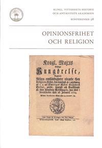 Opinionsfrihet och religion -  pdf epub