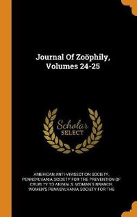 Journal of Zo phily, Volumes 24-25