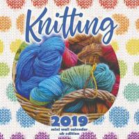 Knitting 2019 Mini Wall Calendar (UK Edition)