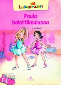 Paula balettikoulussa