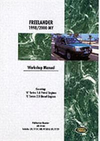 Land Rover Freelander Workshop Manual 1998-2000
