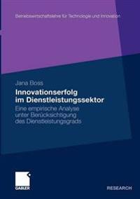 Innovationserfolg Im Dienstleistungssektor