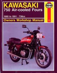 Kawasaki 750 Air-cooled Fours 1980-91 Owner's Workshop Manual