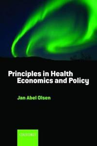 Principles in Health Economics and Policy