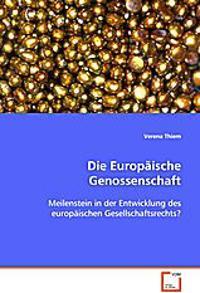 Die Europäische Genossenschaft