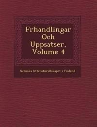 F Rhandlingar Och Uppsatser, Volume 4 - Svenska Litteraturs Llskapet I. Finland pdf epub