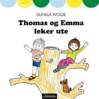 Thomas og Emma leker ute - Gunilla Wolde   Inprintwriters.org