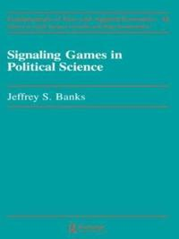Signaling Games in Political Science