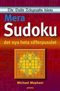 Mera sudoku : det nya heta sifferpusslet