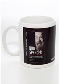 Kaffeebecher BUD SPENCER »IN ACHTZIG JAHREN UM DIE WELT«