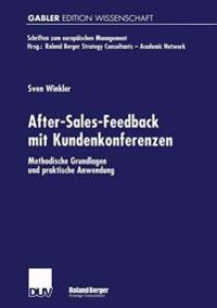 After-sales-feedback Mit Kundenkonferenzen