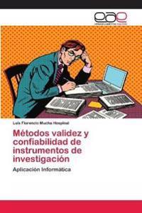 Métodos validez y confiabilidad de instrumentos de investigación