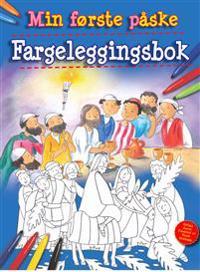 Min første påske. Fargeleggingsbok. Les og fargelegg fortellingen om den første påsken - Bethan James | Inprintwriters.org