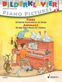 Tiere/Animals/Animaux: 30 Leichte Klavierstucke Fur Kinder/30 Easy Piano Pieces For Children/30 Morceaux Faciles Pour Piano, A L'Usage Des En