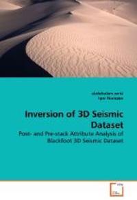 Inversion of 3D Seismic Dataset