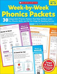 Week-By-Week Phonics Packets: Grades K-3