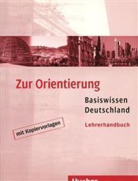 Gaidosch, U: Zur Orientierung/Lehrerhandbuch