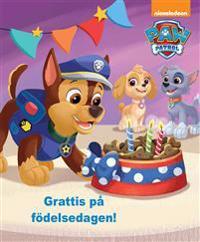 Paw Patrol. Grattis på födelsedagen