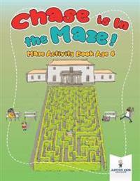 Chase Is in the Maze  Maze Activity Book Age 6 - Jupiter Kids - böcker (9781541937062)     Bokhandel